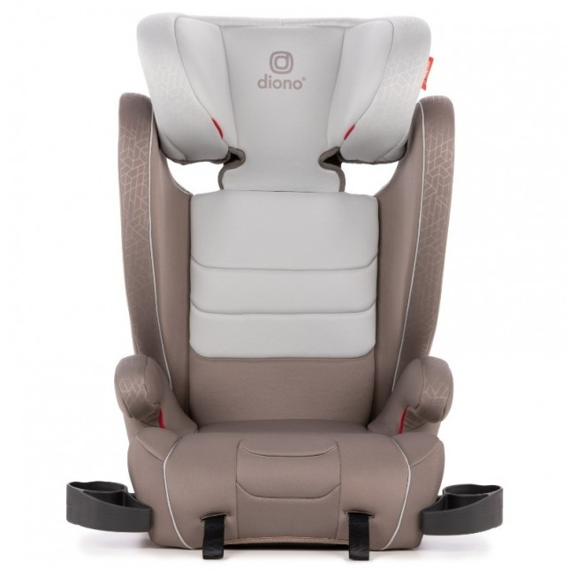 Diono Monterey XT Latch Car Seat Booster - Grey Oyster