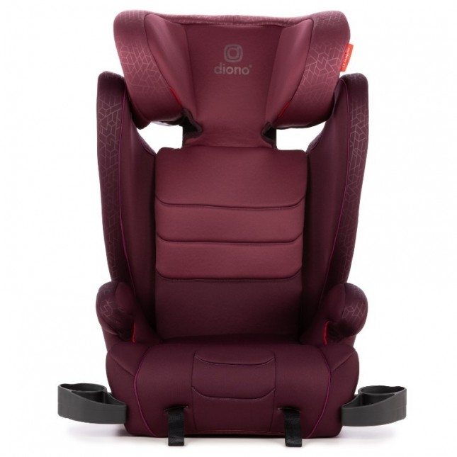 Diono Monterey XT Latch Car Seat Booster - Plum