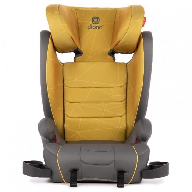 Diono Monterey XT Latch Car Seat Booster - Yellow Sulphur