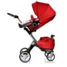 Stokke XPLORY Stroller - Red V4