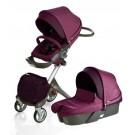 Stokke XPLORY Newborn Stroller in Purple