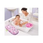 Summer Infant Newborn-To-Toddler Bath Center & Shower (Pink)