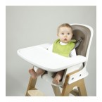 OXO Tot Roll Up Bib in Pink