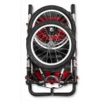 Schwinn Arrow Single Stroller - Red/Black