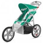 Instep Flash Fixed Wheel Jogger - Grass/Grey