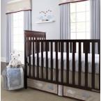 Wendy Bellissimo Snug Harbor 3 Piece Baby Crib Bedding Set