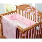 Crown Crafts Babies R Us 7 Piece Crib Bedding Set Olivia Collection