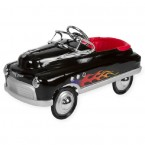 Airflow Collectibles Black Hot Rod Comet Pedal Car
