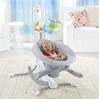 Fisher Price 4-in-1 Smart Connect™ Cradle 'n Swing - Techno Gray™
