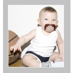 FCTRY Mustachifier The Cowboy Mustache Pacifier