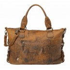 OiOi Jungle Leather Tote Diaper Bag