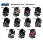 Peg Perego Primo Viaggio 4-35 Infant Car Seat - Circles Choco