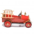 Airflow Collectibles Fire Engine Pedal Truck