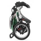 Schwinn Turismo Swivel Single Jogger - Green/Black/Gray