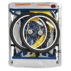 Schwinn Echo Double Bike Trailer - Yellow/Navy