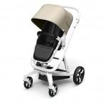 Beige Milkbe Lullaby Self-Stopping Stroller