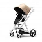 Gold Milkbe Lullaby Self-Stopping Stroller