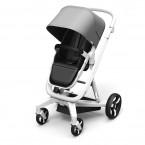 Gray Milkbe Lullaby Self-Stopping Stroller