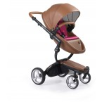 Mima Xari Stroller + Starter Pack-Camel-Starter Pack Hot Magenta