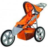 Instep Flash Fixed Wheel Jogger - Orange/Grey