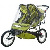 Instep Weathershield for Double Fixed Wheel Stroller