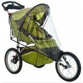 Instep Weathershield for Single Fixed Wheel Stroller