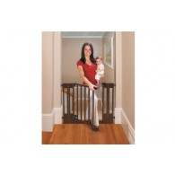 Summer Infant Multi Use Deluxe Wood Walk-Thru Gate