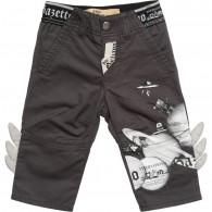 JOHN GALLIANO Baby Boys Grey Cotton Trousers