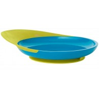 Boon CATCH PLATE With Spill Catcher in Blue & Green