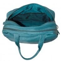 OiOi Turquoise Buffalo Carry All Diaper Bag