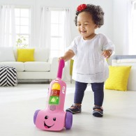 Fisher Price Laugh & Learn Smart Stages Vacuum in Pink