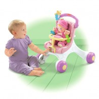 Fisher Price Brilliant Basics Stroll-Along Walker