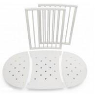 Stokke Sleepi Bed Extensions, Mini to Crib Conversion - White