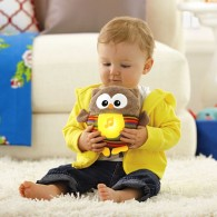 Fisher Price Soothe & Glow Owl Brown