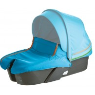 Stokke XPLORY Carry Cot Complete Kit in Urban Blue