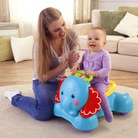 Fisher Price 3-in-1 Bounce, Stride & Ride Elephant