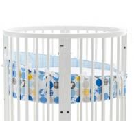 Stokke Sleepi Mini Bumper in Silhouette Blue