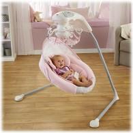 Fisher Price Rose Chandelier Cradle 'n Swing