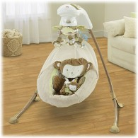 Fisher Price My Little SnugaMonkey Special Edition Cradle 'n Swing