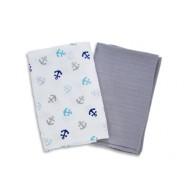 Summer Infant  SwaddleMe® Muslin Blankets 2-PK
