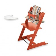 Stokke Tripp Trapp High Chair Complete Bundle in Orange
