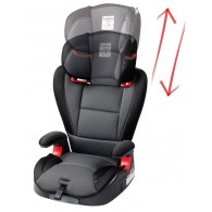 Peg Perego HBB 120 High Back Booster Car Seat in Crystal Black