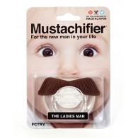 FCTRY Mustachifier The Ladies Man Mustache Pacifier