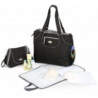Chicco Layla Tote Diaper Bag in Black