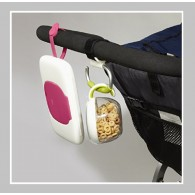 OXO Tot On-the-Go Wipes Dispenser in Pink