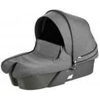 Stokke XPLORY Carry Cot Complete Kit in Black Melange