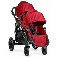 Baby Jogger 2014 City Select Double Stroller in Red