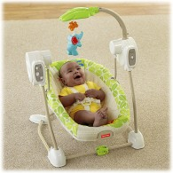 Fisher Price Rainforest Friends SpaceSaver Swing & Seat