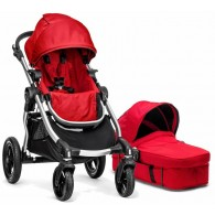 Baby Jogger 2014 City Select Stroller & Bassinet in Ruby