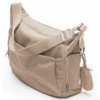 Stokke Changing Bag in Beige Melange